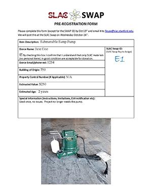 Pre-registration Form